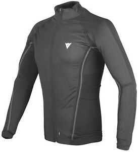 Thermal Sweater Winter Dainese D-Core No Wind Thermo Tee Ls Black Anthracite