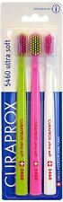 Curaprox 5460 Ultra Soft Toothbrush Trio Pack