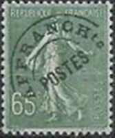 "FRANCE STAMP TIMBRE PREOBLITERE N° 49 "" SEMEUSE 65c OLIVE "" NEUF xx TTB"