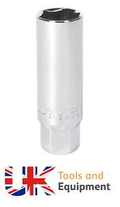 "Sealey AK6557 Spark Plug Socket 16mm 3/8""Sq Drive Thin Wall 100% Genuine"
