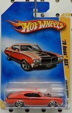 1970 70 BUICK GSX RED 007 07 7 2009 GM HW HOT WHEELS