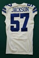 #57 Jackson of Dallas Cowboys NFL Locker Room Game Issued Jersey