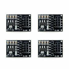 4pcs NRF24L01+ Wireless Module with Breakout Adapter 3.3V Regulator