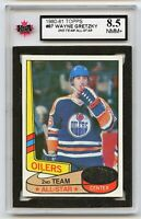 1980-81 Topps #87 Wayne Gretzky AS2 Graded 8.5 NMM+ (*G2020-023)
