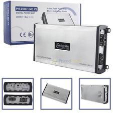 American Bass Class D Mono Amplifier 2500 Watts Max 1 Channel Ph-2500.1-Md-V2