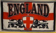 Fahne FLAGGE England mit Löwen  1,5 Meter x 0,9 Meter Lions  #188