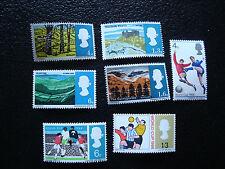 ROYAUME-UNI - timbre yvert/tellier n° 437 a 443 n* (A8) stamp united kingdom(Z