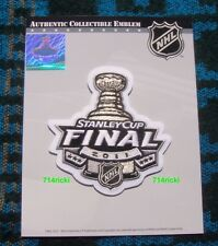 Official 2011 Stanley Cup Final Finals Patch Vancouver Canucks Boston Bruins NHL