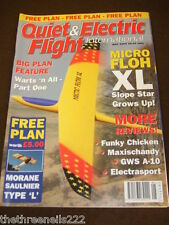 QUIET & ELECTRIC FLIGHT INTERNATIONAL - MAY 2004 WITH MORANE SAULINER PLAN