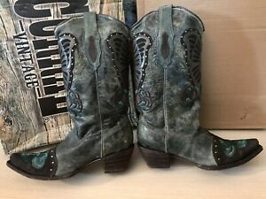 VERITABLES BOTTES SANTIAGS CORRAL FEMME WESTERN COUNTRY Pointure 39