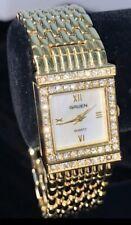 Gruen Reverso GR8866 Luxe Wristwatch Bracelet In One quartz Gold Filled
