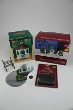 Christmas Lighted Village Accessories Lot Archway Trees Fence Gazebo Icicles