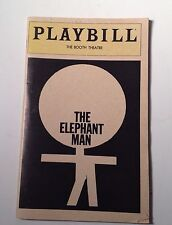 Playbill The Elephant Man Program March 1981 Donal Donnelly Booth Theatre
