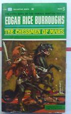 The Chessmen Of Mars by Edgar Rice Burroughs : 1st Ballantine Books # F 776 1963
