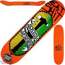 "SANTA Cruz ""Mangia SH% T"" Jason Jessee Skateboard Deck 8.5"" x 32.2"" Park Rampa Street"