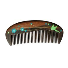 Kxkdss Wooden Hair Comb - Fine Tooth Wood Comb for Women