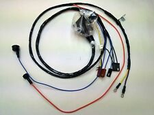 1968 1969 Chevelle El Camino Engine Starter Wiring Harness Warning Lights 396