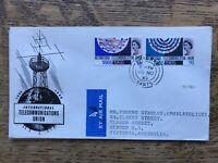 GB FDC 1965 International Telecommunications Union