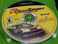RalliSport Challenge (Microsoft Xbox, 2002) TESTED! DISC ONLY! FREE SHIPPING!