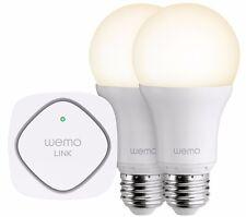 Belkin WeMo LED Smart Light Bulb Starter Kit - Screw Fit E27