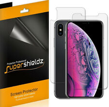 Supershieldz Anti Glare Matte Screen Protector- iPhone XS Max (3 Front + 3 Back)