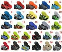 Mens Running Shoes Speedcross 3 Outdoor Hiking Athletic Sneakers Sport US 7-13