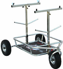 Senzo Chrome 3 Wheel Kart Trolley Go Kart Karting Race Racing