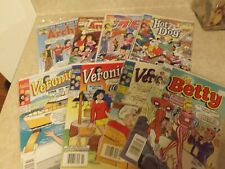 Lot of 8 Archie Comic Books.