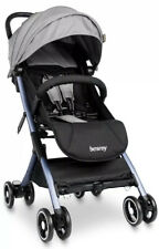 besrey Airplane Baby Stroller Kids pram with Reclining Seat, Gray
