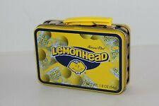 Lemonheads Candy Tin Litho Mini School Lunch Box