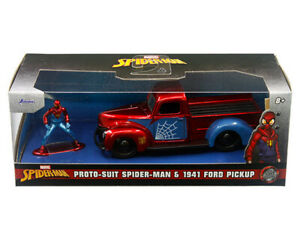 Jada - Marvel Avengers - Proto-Suit Spider-Man 1941 Ford Pickup 1:32 Scale