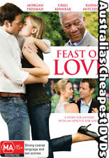 Feast of Love DVD NEW, FREE POSTAGE WITHIN AUSTRALIA REGION 4