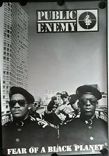 PUBLIC ENEMY  Vintage Promo Poster 38x59 FREE INT. SHIPPING