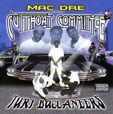 Mac Dre presents Tha Cutthroat Committee - Turf Buccaneers [PA]  CD SEALED NEW