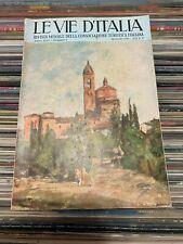 Le Vie d'Italia  Maggio 1938 consociazione turistica italiana