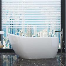Bathroom Acrylic Free Standing Bath Tub 1500x700x600mm FreeStanding Bathtub