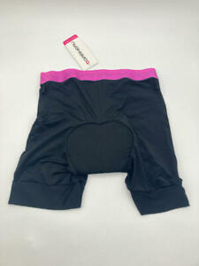 Louis Garneau 2002 Sport Cycling Innershorts Black/Purple MD 8
