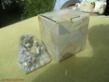 Calico Kittens ~ You'Re So Huggable ~ Cat Kitty with Bunny Rabbit Figurine & Box