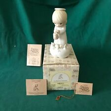 """Precious Moments 1983 """"E-9288"""" """"Sending You A Ra 00004000 Inbow"""" New In Box With Tags-Mint"""