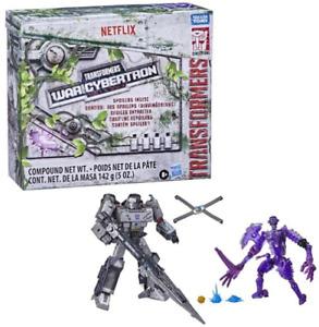 Transformers Netflix War for Cybertron MEGATRON (Leader Class)