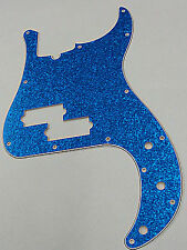 D'ANDREA PRO P BASS PICKGUARD 13 HOLE BLUE SPARKLE MADE IN THE USA