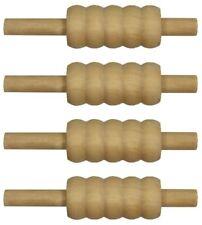 Cricket Bails Stumps wooden Set Of 4