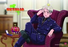 Hetalia Axis Powers Prussia with Chick Wall Scroll 27.8 x 19.7 in Licensed NEW
