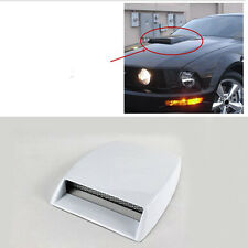 Universal Car Decorative Air Flow Intake Scoop Turbo Bonnet Vent Cover Hood 4x4