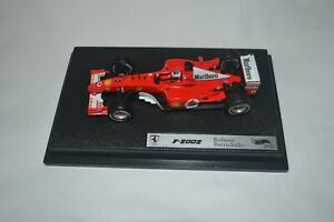 1:43 Hotwheels #54919 Rubens Barrichello Ferrari F2002 #2 2002 Marlboro decals.