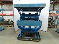 "Advanced 9500Lb. Hydraulic Scissor Lift Table 63""x64"" Top 23-5/8"" to 84"" Lift"