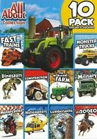 All About Collection:10 Pack, Explore  Discover,(DVD, 2016), NEW and Sealed