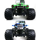 New For LOSI LMT 4WD Solid Axle Monster Truck Upgrade Front Bumper Metal Armor