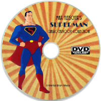 Superman classic 1940s cartoons, Complete series on DVD, Max Fleischer Paramount