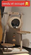 Arbre à chat entièrement fait main